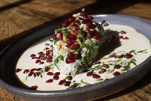 At Mesa Coyoacan, Chef Ivan Garcia Brings Chiles en Nogada to Brooklyn
