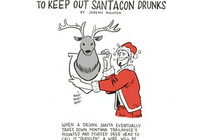 SantaCon Drunks Need to be Dealt With, Home Alone-style [COMIC]