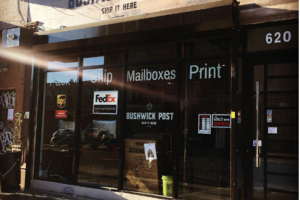 Bushwick Post Opens Near the Wilson L to Alleviate Delivery Woes