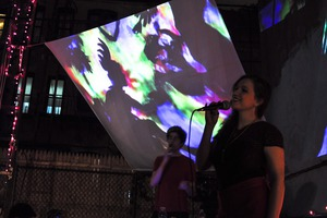Electronic Music in a Bushwick Backyard