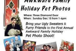 Save the Date for Awkward Family Pet Photo Shoot This Sunday