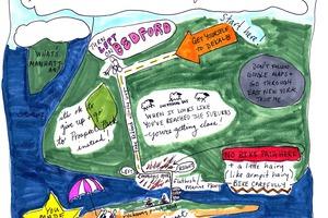 Getting to Rockaways: By Bike, by Bushwick Beach Bus or by Ferry!