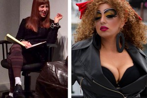 Dr. Lisa Calls in Drag Performer Crimson Kitty to Talk Monogamy