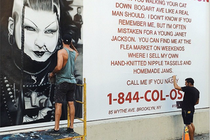 Call Me If You Nasty: Fake Missed Connection Ad on Bogart Street Is a Masterpiece by Colossal