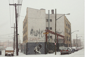 New York Hunkers Down for Snow but Many Bushwick Businesses Remain Open