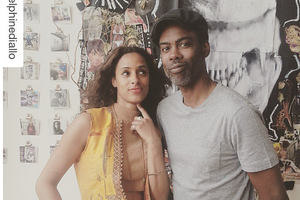 Chris Rock Hung Out with Artists, Took Selfies During Bushwick Open Studios