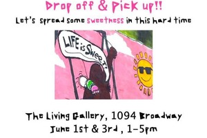 Bushwick Gallery Giving Back: Community Pantry at The Living Gallery