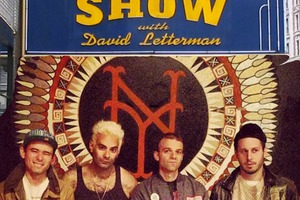 "So So Glos Debuted ""Son of an American"" on David Letterman"