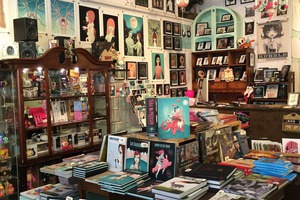 Illustration/Gallery Shop, Cotton Candy Machine, is Moving to Bushwick