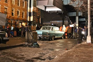"Filming of Fox Show ""Gotham"" Overtook Palmetto St in Ridgewood Last Week"