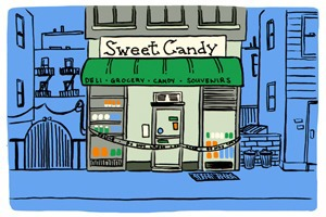 Bushwick Spots That Are Fronts for Illegal Operations [COMIC]