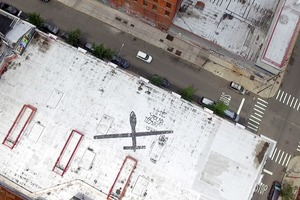 Mysterious Predator Drone Appears Over Four Buildings in Bushwick and East Williamsburg