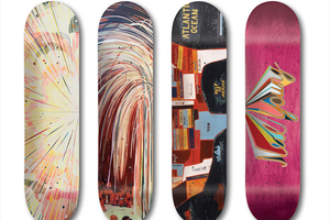 Prominent Bushwick Artist Jules de Balincourt Created a Limited Edition of Girl Skateboards