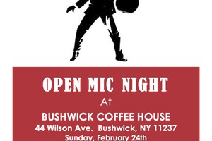 Open Mic at Bushwick Coffee House this Sunday
