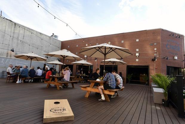 Brooklyn Cider House Debuts New Deck and Bar Menu