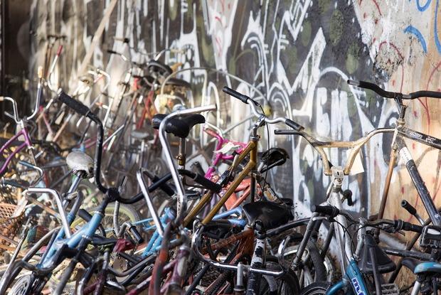 Photos: Cops Shut Down Bike Kill, the Annual Fest of Weird Bikes