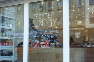 Gourmet Grocery Store Foster Sundry is a Food Lover's Paradise
