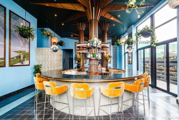Team Behind Seawolf Brings a Year-Round Rooftop Bar and Mediterranean Restaurant to Bushwick
