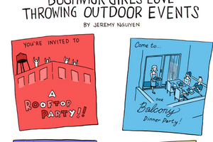 Bushwick Girls Love Outdoor Events [Comic]