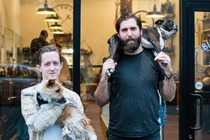 Haircuts, Leather, Whiskey and Dogs Await at Bushwick Based Black Rabbit Barbershop