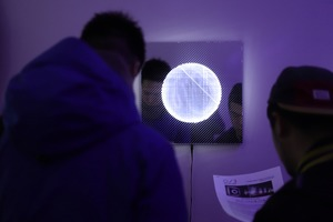 Bushwick Gallery Hosts Underground Artist's LED Light Art Exhibition