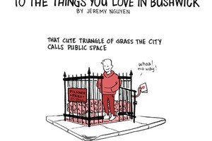 Give a Valentine to The Things You Love in Bushwick [COMIC]