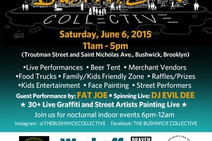 2015 Bushwick Collective Block Party Line Up Announced