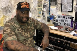 Despite Elimination, Big Jaz Is still Brooklyn's Ink Master