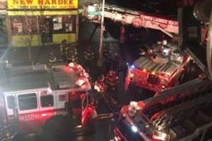 A Fire Between the Walls Partially Destroyed a Chinese Restaurant Last Night on Wilson Avenue