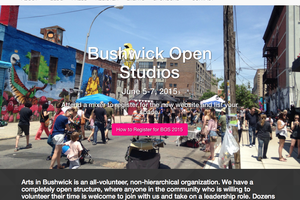 TGIF: Arts in Bushwick Gearing Up for BOS15