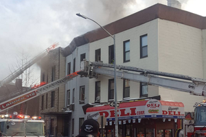 Update: Huge, 3-Alarm Fire on Evergreen Avenue in Bushwick Left 7 Families Homeless