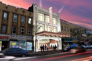 The Former Ridgewood Theater Building is Getting a Blink Gym