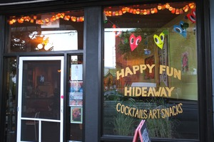 Myrtle Ave Just Got a New Bar: Happy Fun Hideaway