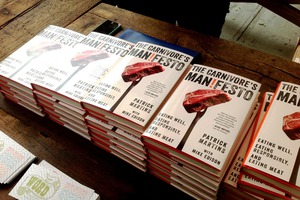 """The Carnivore's Manifesto"" Launched Last Night at Roberta's"