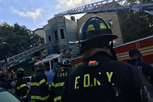 Squatters May Have Started the Fire That Engulfed a Halsey Street Home This Morning