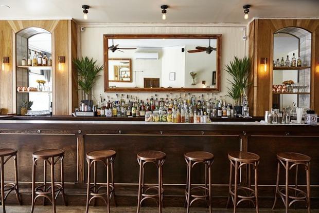 The Back Yard Awaits at Beautiful Bushwick Ave Cocktail Bar The Topaz