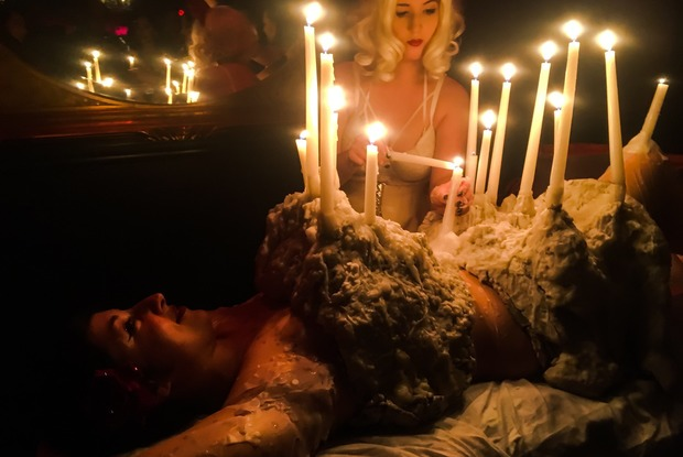 NSFW: The Alternative Thanksgiving Feast in Bushwick Where Guests Ate Off Naked Bodies