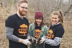 Noble Oak Bourbon Partners with Local Bars for Tree and Block Beautifying Campaign