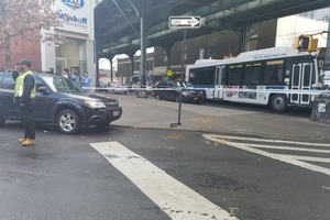 A Bystander Was Shot by Two Gunmen Riding Bikes Down Myrtle Avenue in Bushwick