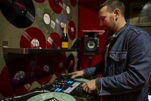 Up Close With Radio Host and DJ Sammy Needlz in His Bushwick Studio