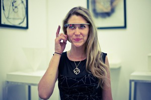 Exploring the Land of 3D Printed Sculptures through Google Glasses of Ashley Zelinskie