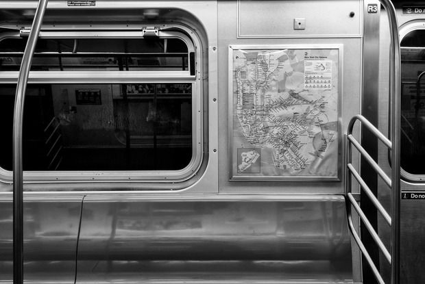 As You Watch a Man Weep on the Evening M Train to Bushwick