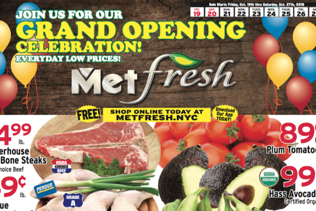 New Met Fresh Supermarket Is Opening This Week Near The Knickerbocker Avenue M Stop