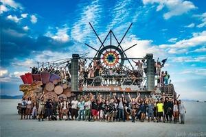 Burning Man Art Can, 'Mayan Warrior' Makes East Coast Debut at Brooklyn Mirage
