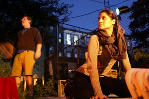 Your Perfect Fall Experience Tonight: Thrilling Theater Play in a Bushwick Backyard (Free & BYOB)