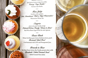 Boozy Cupcakes Paired with Craft Beer are on the Menu at the Well Tonight!