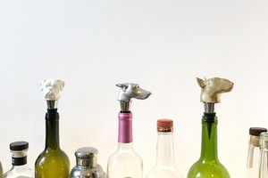 A Local Engraving Studio Releases Handmade Bottle Stoppers for Animal Lovers