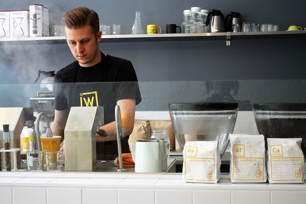 Breaking Bad-Inspired Walter's Coffee Roastery Rocks Bushwick Soft Opening