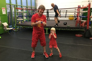 From Russia, With Tracksuit: Boxing Coach Mike Is Serious About Training… And Fashion