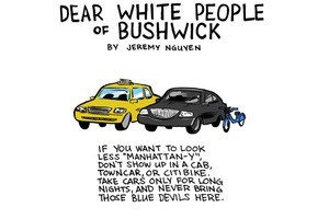 Dear White People of Bushwick [Comic]